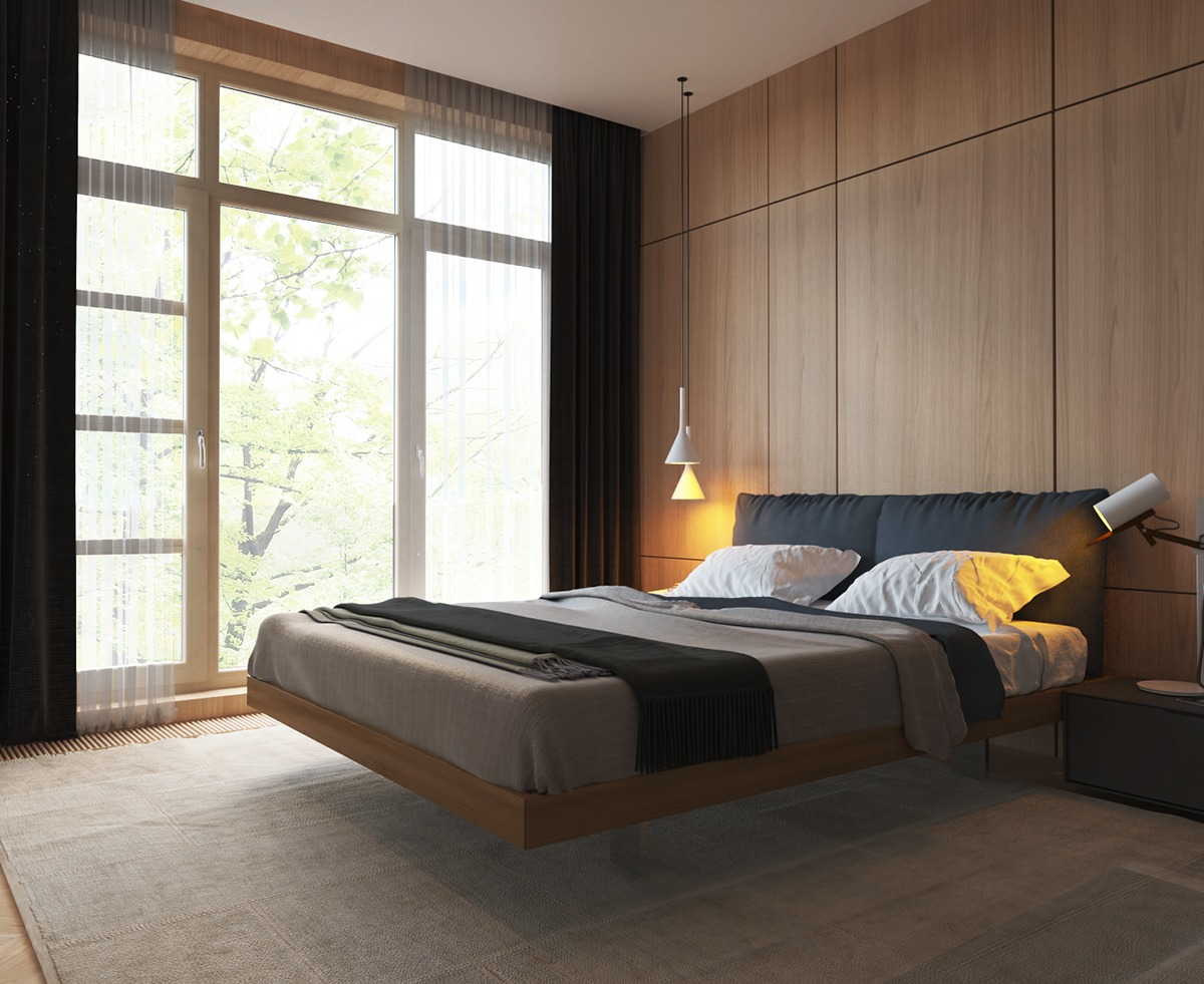 Bedroom Inspiration Roundup: Cool Unconventional Themes on Bedroom Design Minimalist  id=86432
