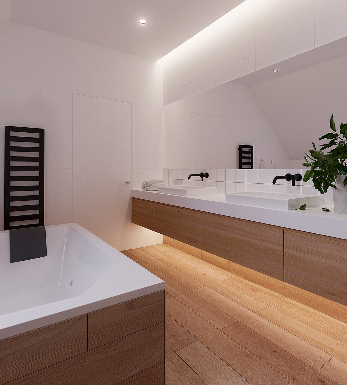 Minimalist Bathroom Design Pinterest: A Sleek And Surprising Interior Inspired By Scandinavian