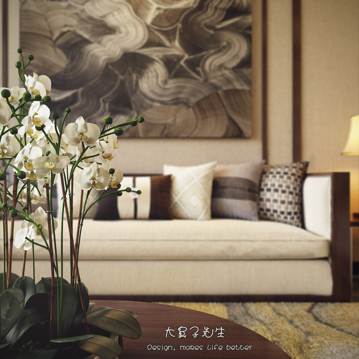 Modern Japanese Home Interior: Two Modern Interiors Inspired By Traditional Chinese Decor