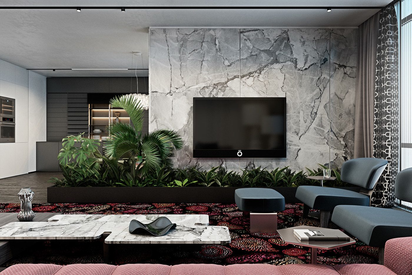 The Natural Side Of 3 Neutral Color Living Room Designs: A Pair Of Dark Themed Homes With Sophisticated Accent Colors