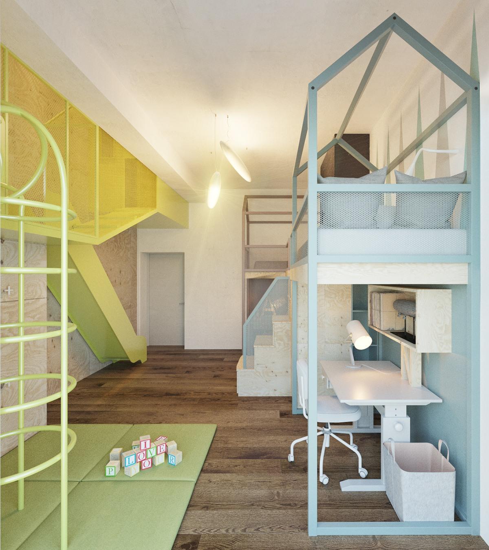 Kids Room Design: Super Stylish Kids Room Designs