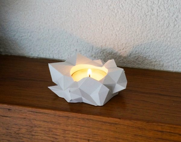 Buy it · modern low poly tea light holder lets start with a