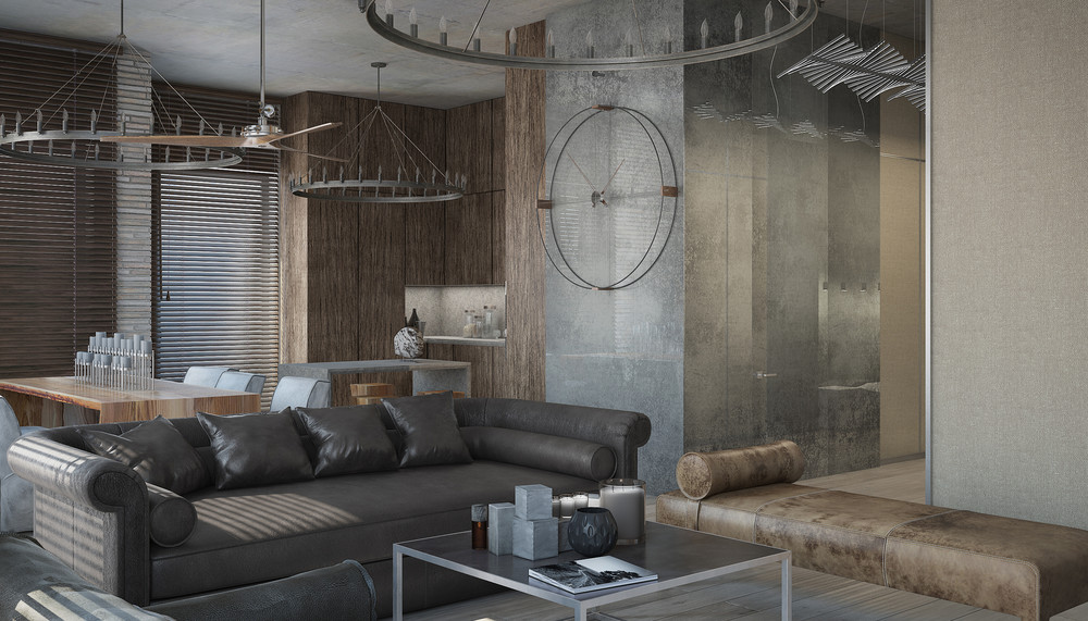 3 Concrete Lofts With Wide Open Floor Plans
