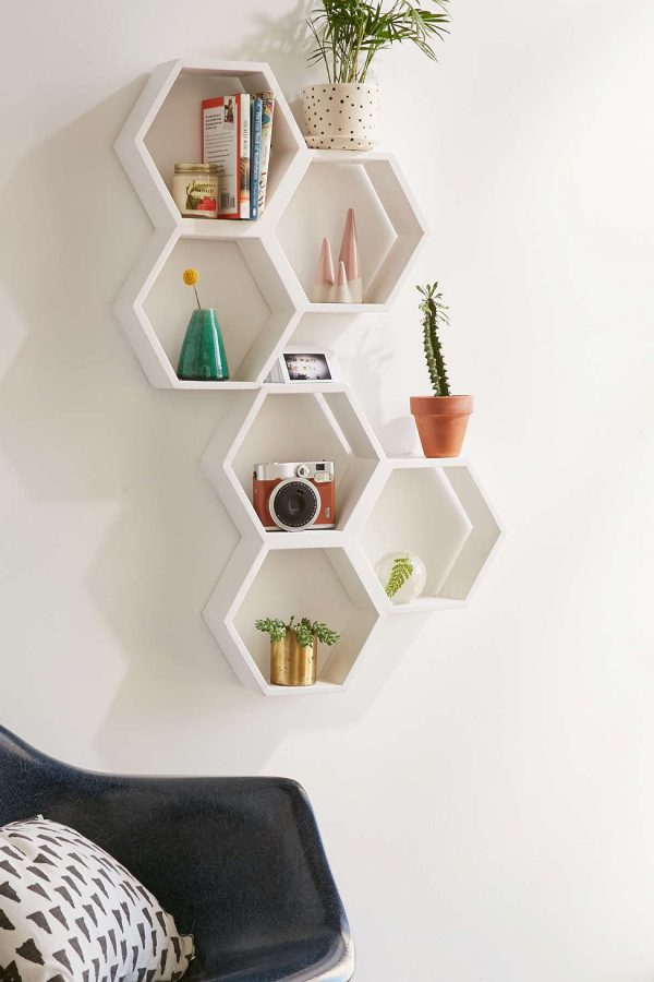 Unique Wall Shelves That Make Storage