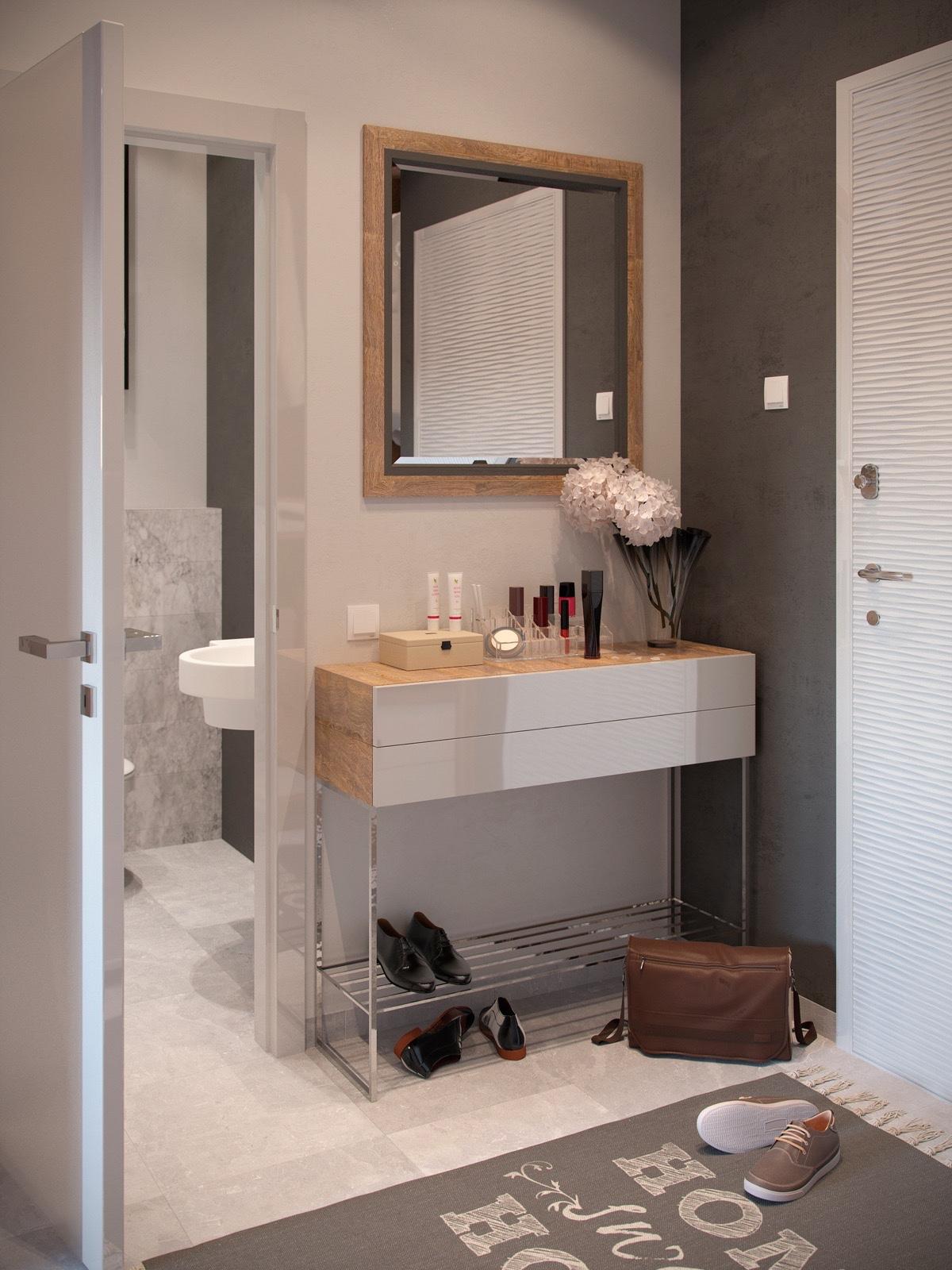 Contemporary Studio Apartment Design: Bold Decor In Small Spaces: 3 Homes Under 50 Square Meters