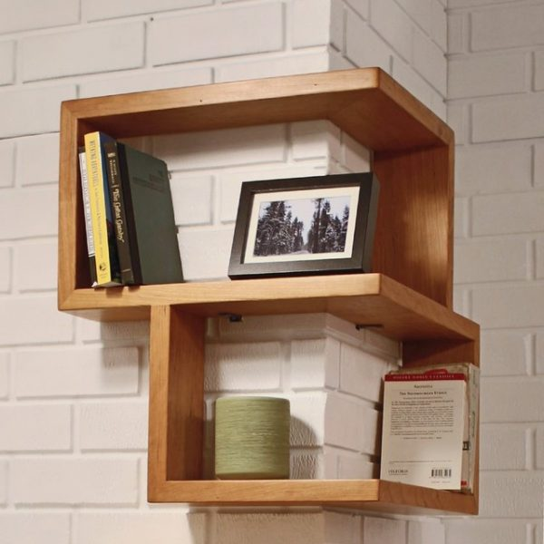 Wall Shelves That Make Storage