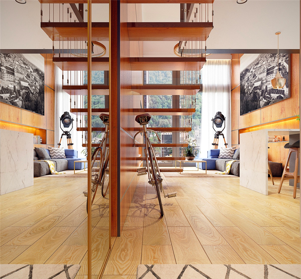 Loft Stairs For Small Spaces: Small Homes That Use Lofts To Gain More Floor Space