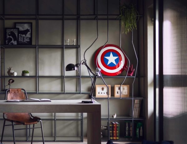 Superhero Decor For Bedroom Living Bathroom