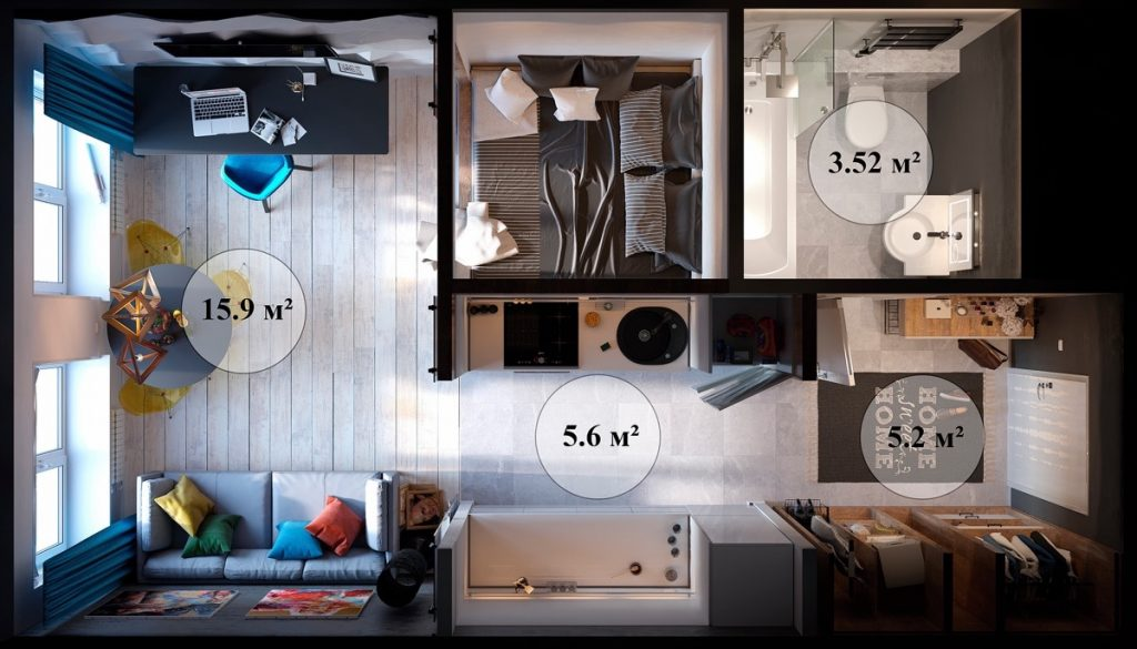 Apartment Kitchen Decor Themes Small Spaces