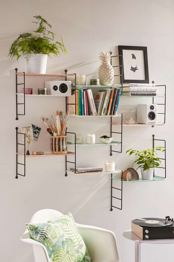 Cool 31 Unique Wall Shelves That Make Storage Look Beautiful Interior Design Ideas Inamawefileorg