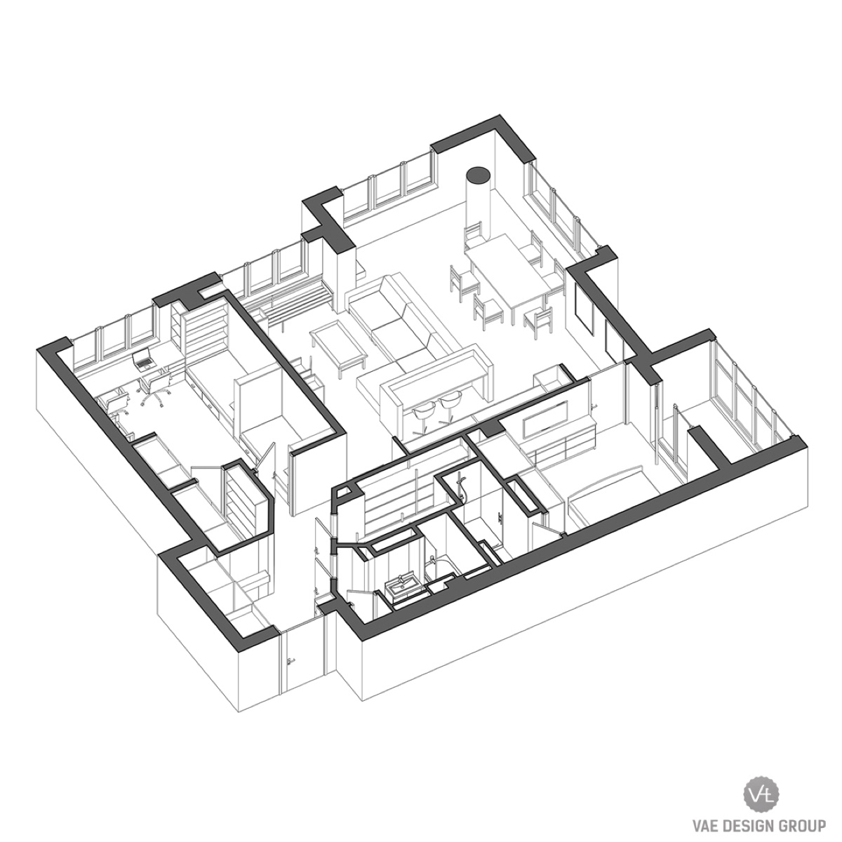 2 Modern Apartments Under 1200 Square Feet Area For Young Families Includes Floor Plans