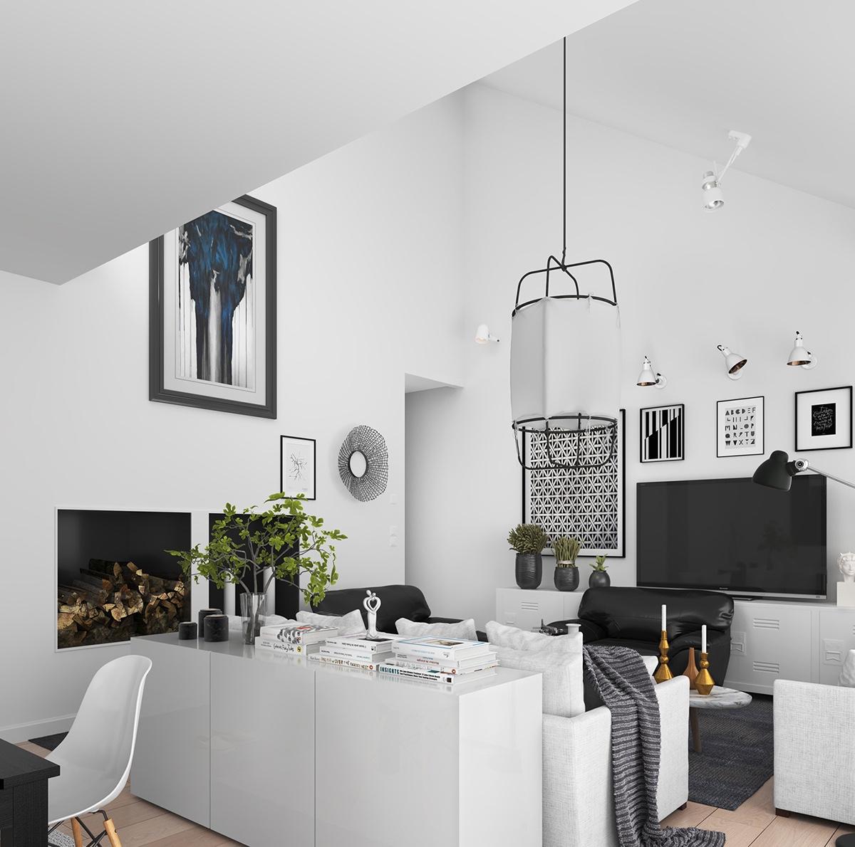 Scandinavian Living Room: 5 Simple And Achievable Scandinavian Apartment Designs