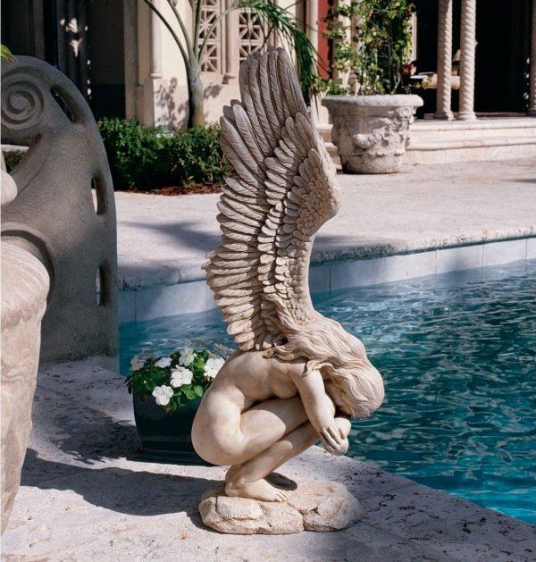 Buy it · redemption angel statue