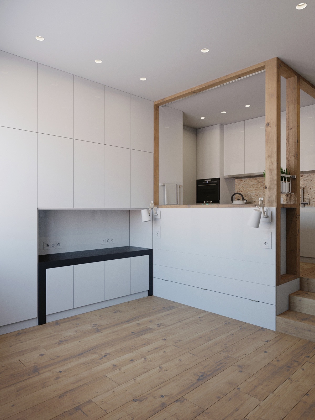 4 Small Apartment Designs Under 50 Square Meters