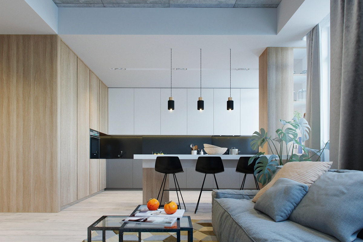2 Modern Apartments Under 1200 Square Feet Area For Young