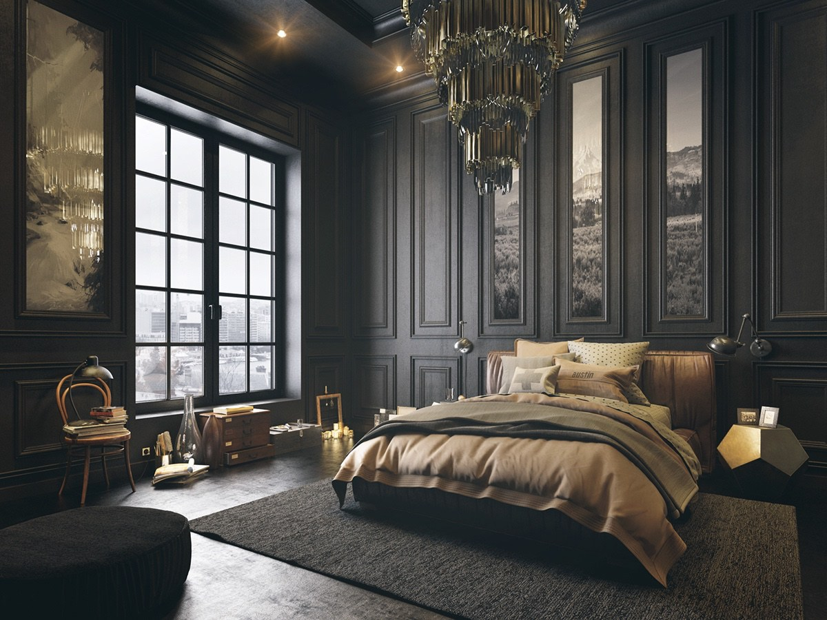6 Dark Bedrooms Designs To Inspire Sweet Dreams Interiors Inside Ideas Interiors design about Everything [magnanprojects.com]