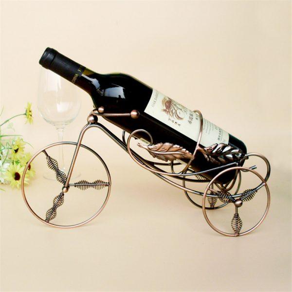 Adorable Deer Lamp Wooden Wine Rack Creative Wine Ornament Home Decor Great Gift Home & Garden Kitchen,dining & Bar