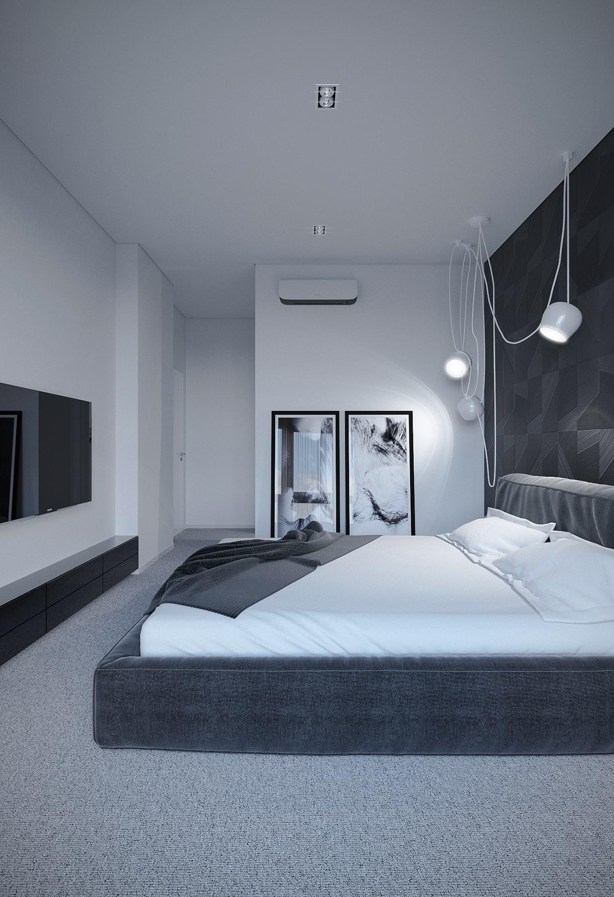 . 6 Dark Bedrooms Designs To Inspire Sweet Dreams