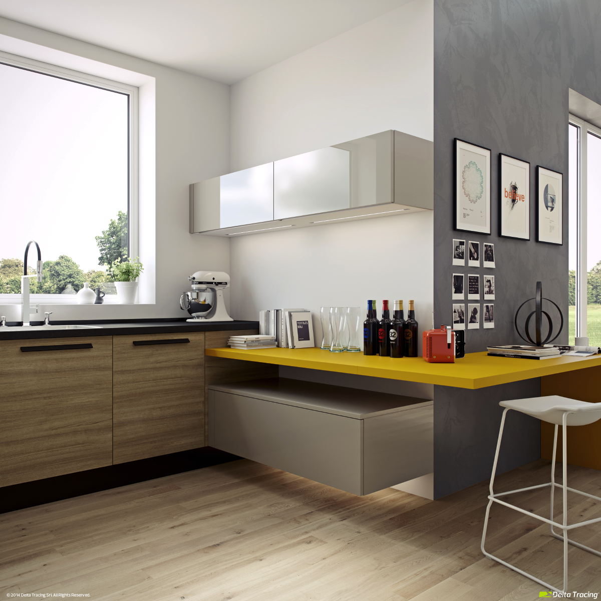 Perfect 22 Yellow Accent Kitchens That Really Shine Sw54