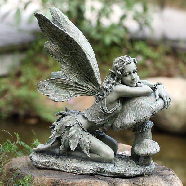 40 Stunningly Beautiful Statues Of, Garden Statue Fairy