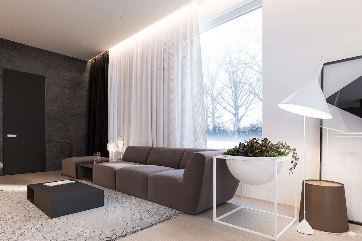 Simple Minimalist Living Room