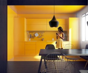 These Stylish Kitchens Show How Good Yellow