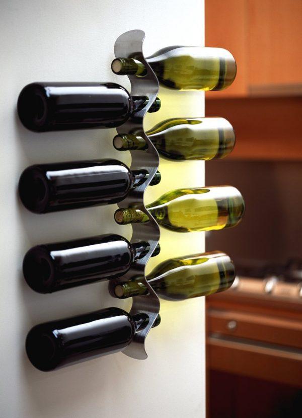 Wine Bottle Storage Ideas | Zef Jam