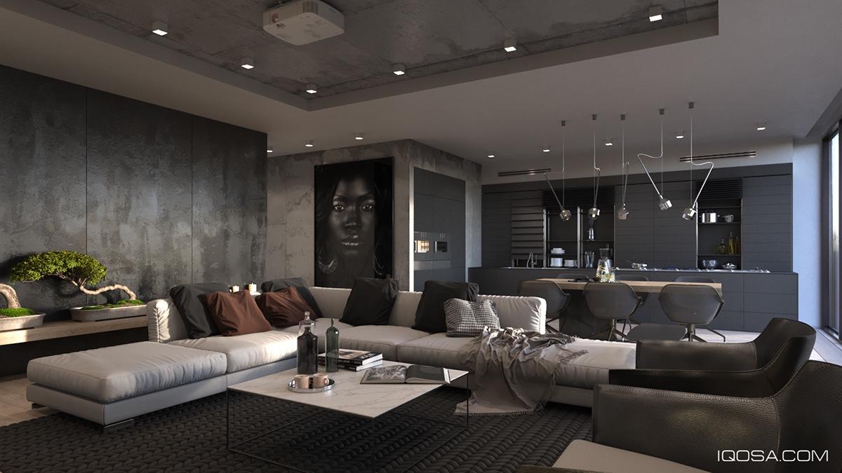 Inspiring examples of use of grey in luxury interior design - Scale in interior design ...