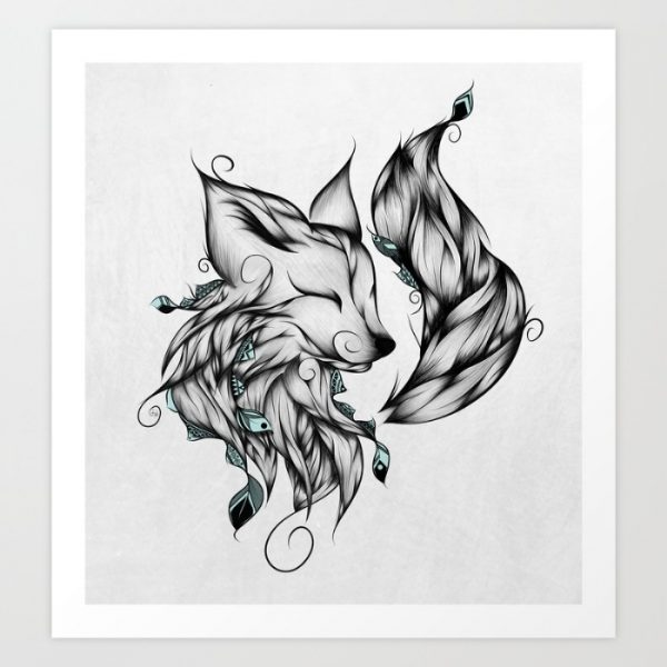 50 Amazing Art Prints Of Foxes For Your Walls