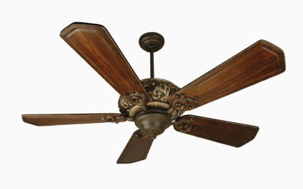 It Craftmade Aged Bronze Vintage Ceiling Fan