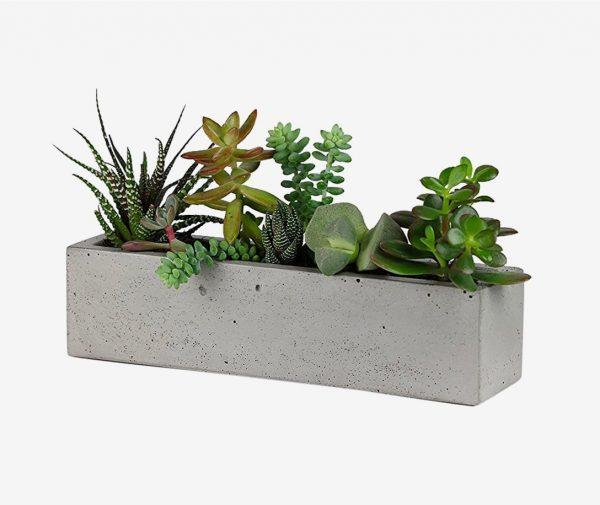Diy Windowsill Planter: 32 Uniquely Beautiful Concrete Planters
