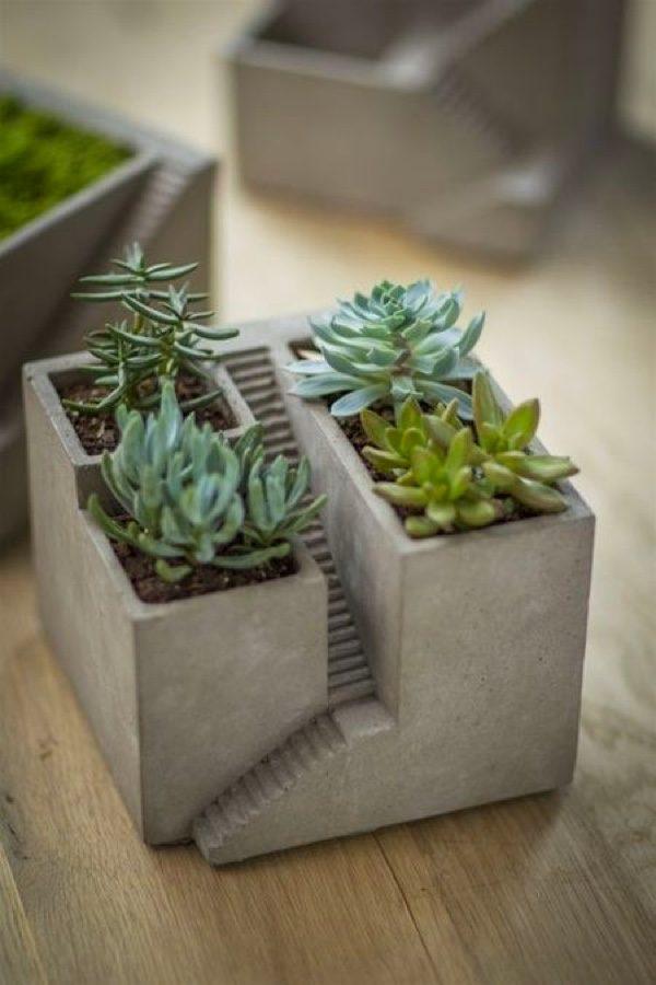 32 Uniquely Beautiful Concrete Planters