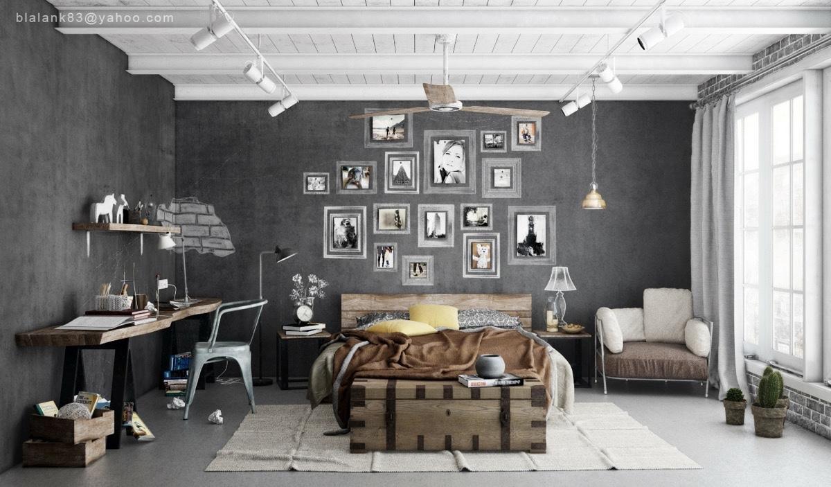 11 Gorgeous Grey Bedrooms