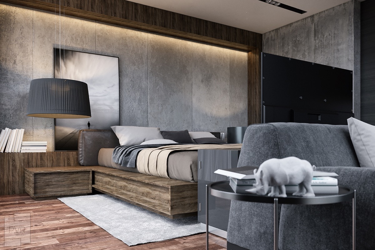 8 Gorgeous Grey Bedrooms