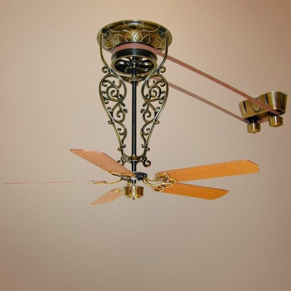 It Antique Br Ceiling Fan With Switch