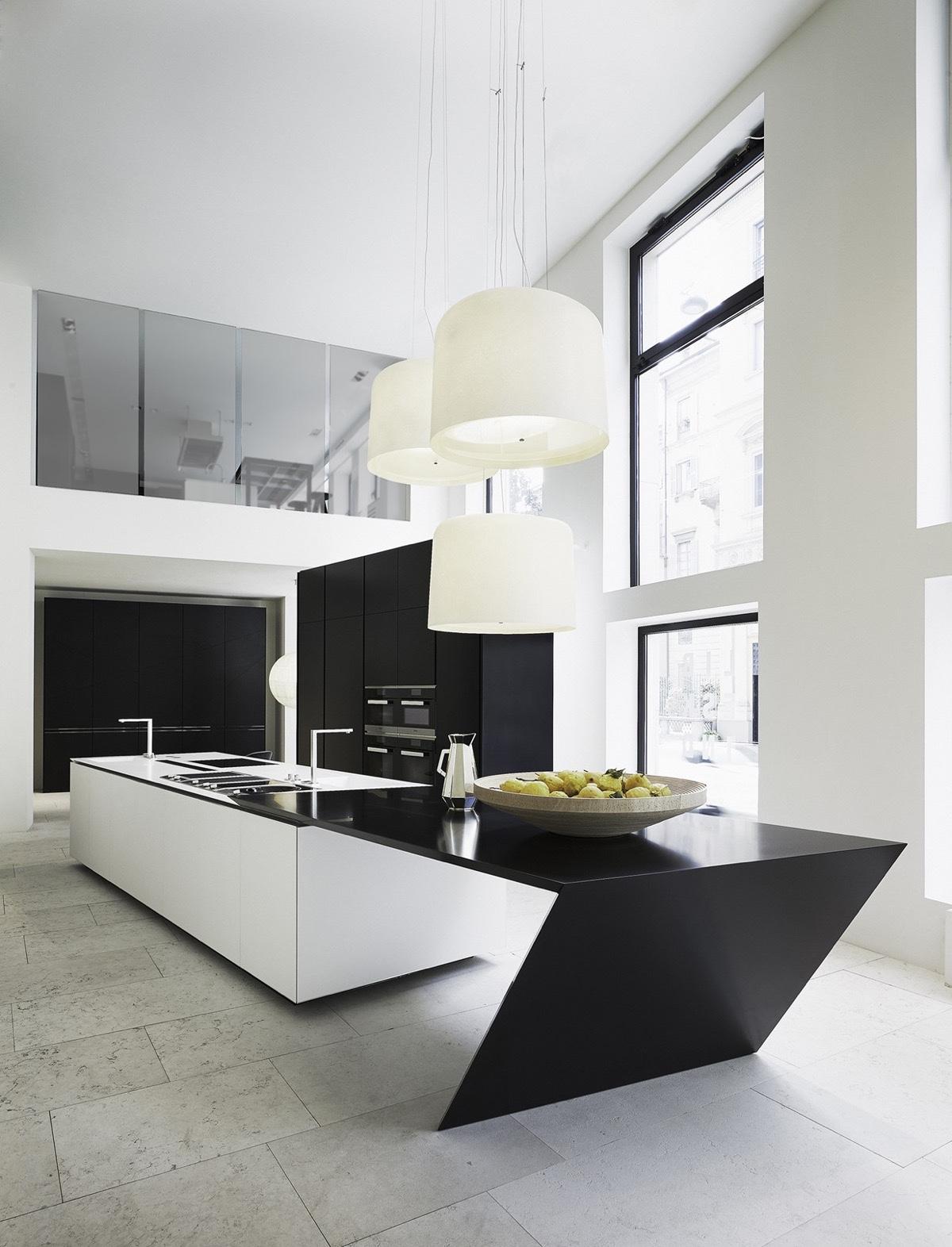 Modern Style Kitchen Design: 50 Modern Kitchen Designs That Use Unconventional Geometry