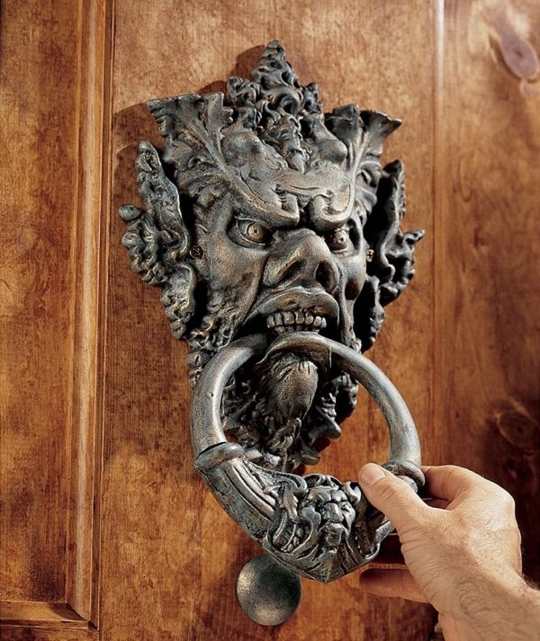 40 Unique Door Knockers To Add Drama To Your Entryway