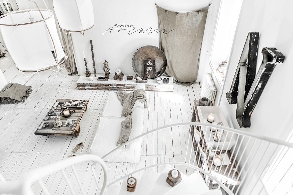 apartment design im industriellen stil loft, cottage chic meets industrial decor in this amazing milan apartment, Design ideen