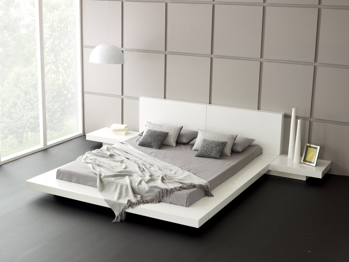 40 Low Height Floor Bed Designs That