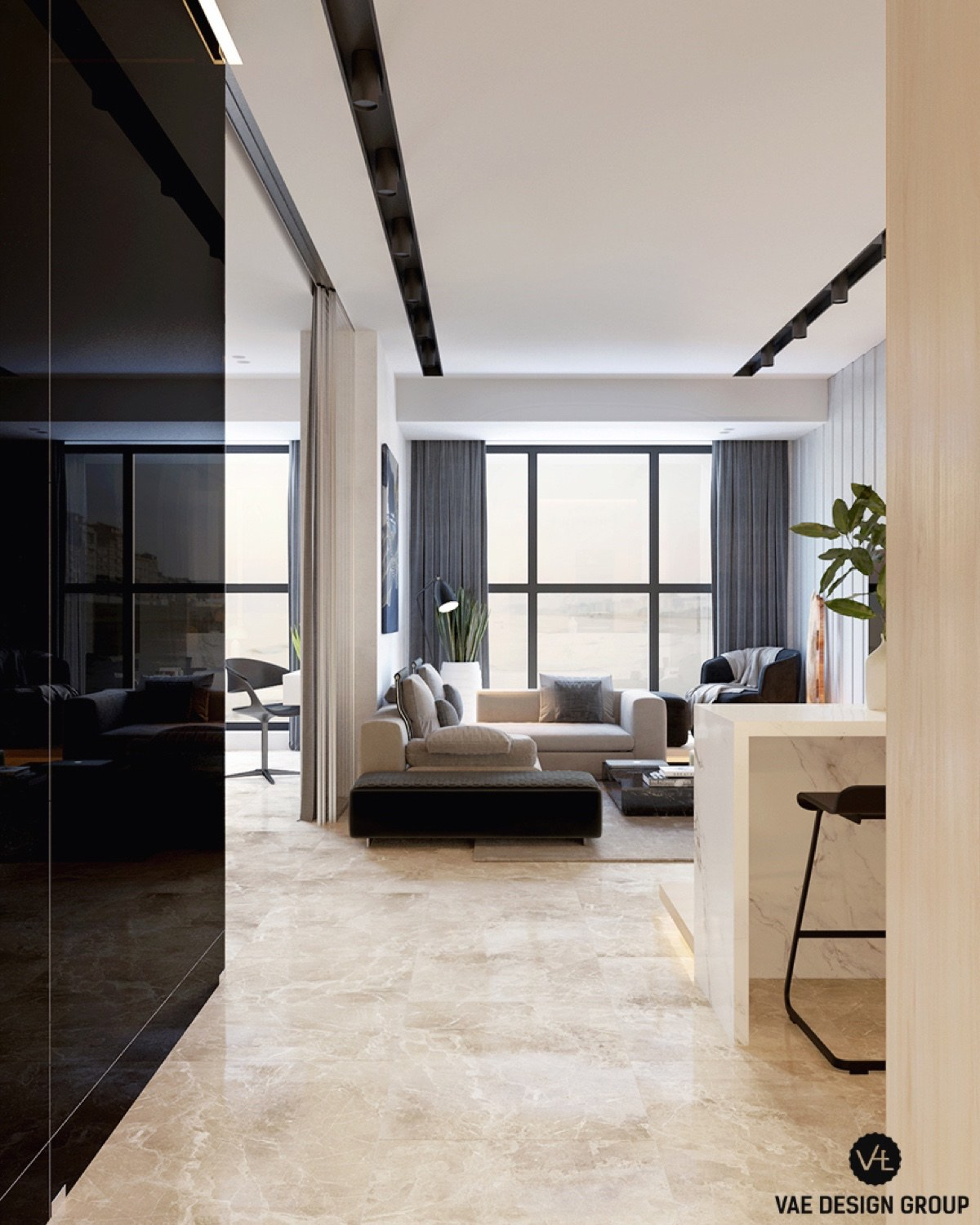 Large Studio Apartments: 3 Small Studio Apartments That Exude Luxurious Space