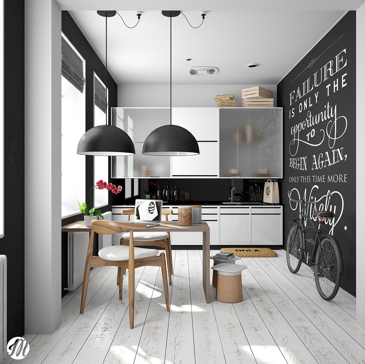 Kitchen Dining Designs Inspiration And Ideas: Scandinavian Kitchens: Ideas & Inspiration