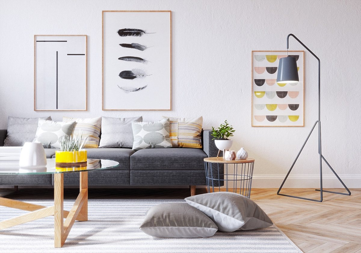 Home Living Room Decorating Ideas: Six Scandinavian Interiors That Make The Lived-in Look