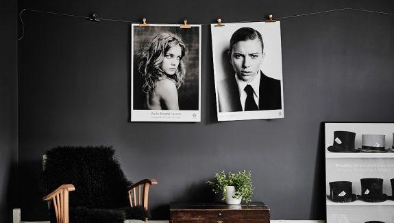 Black & White Scandinavian Interiors That Explore The Dark Side