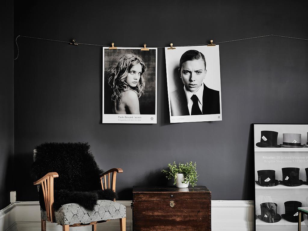 Black And White Photographs Interior Design