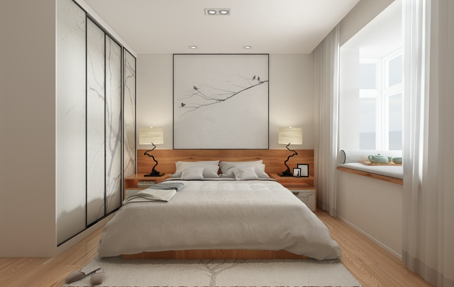 a beautiful 2 bedroom modern chinese house with zen elements includes 3d floor plan. Black Bedroom Furniture Sets. Home Design Ideas