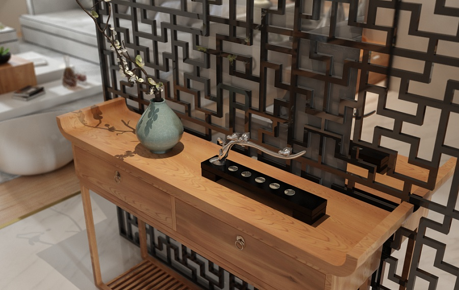 A Beautiful 2 Bedroom Modern Chinese House With Zen