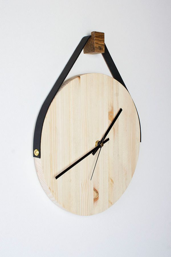 34 wooden wall clocks to warm up your interior rh home designing com