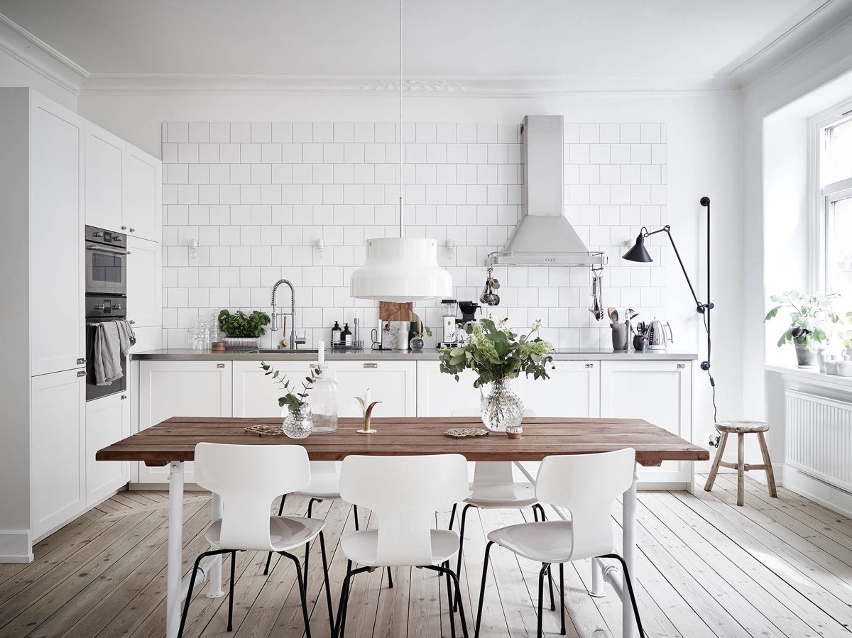 Cuisine D Angle Avec Bar scandinavian kitchens: ideas & inspiration