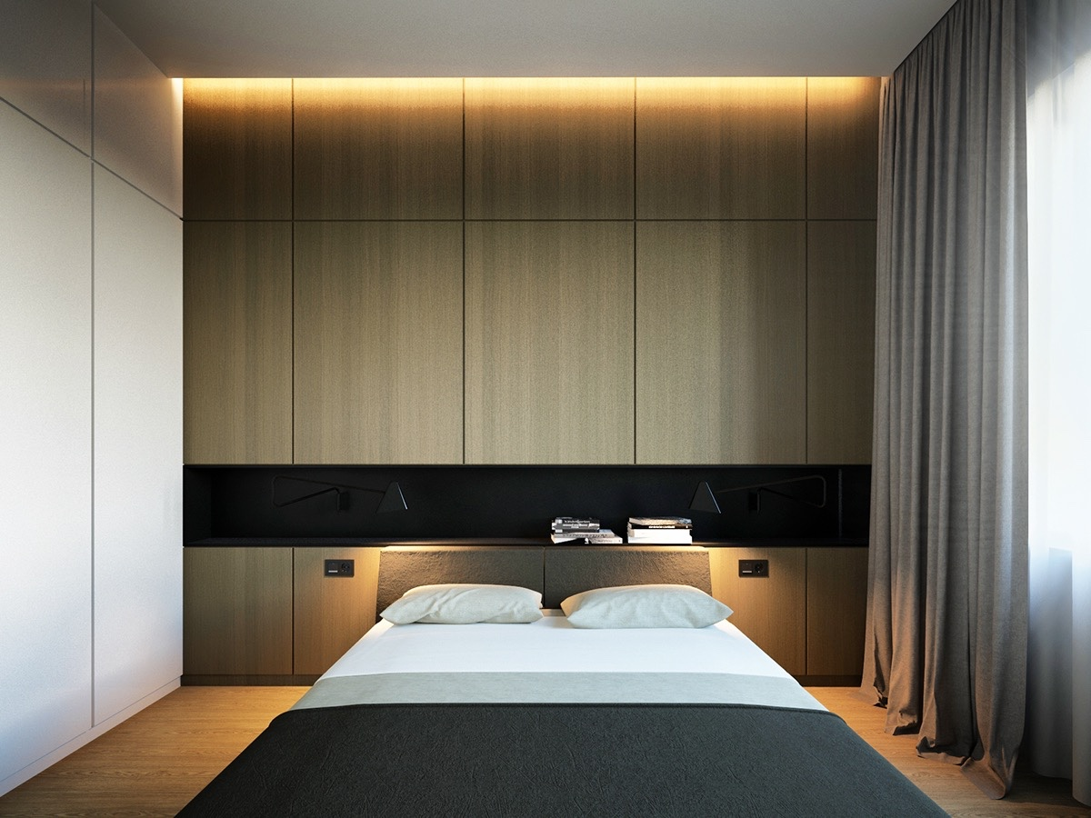 40 Serenely Minimalist Bedrooms To Help You Embrace Simple ... on Bedroom Design Minimalist  id=82143