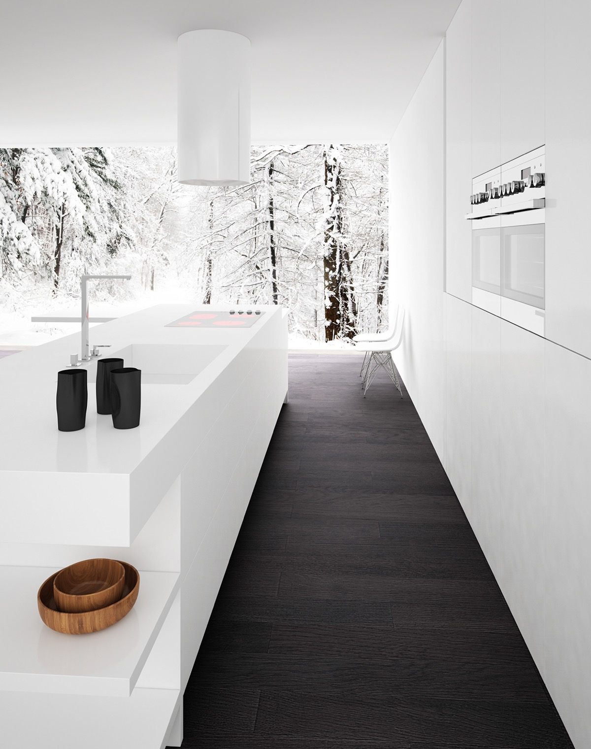 Incredible 40 Beautiful Black White Kitchen Designs Download Free Architecture Designs Sospemadebymaigaardcom